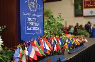Model UN Flags